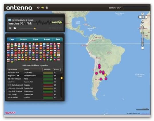 Antenna Escuchar radio online, Antenna