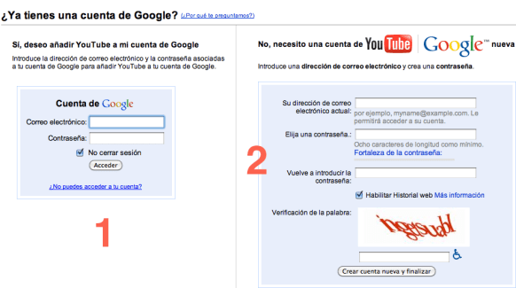 Captura de pantalla 2010 04 08 a las 22.42.271 Cómo hacer una cuenta de YouTube para subir, comentar o calificar videos