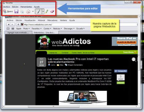 Captura de pantalla 4 Como tomar capturas de pantalla en Windows