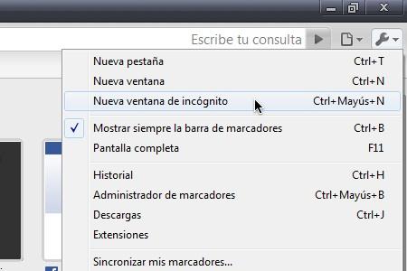 Cómo navegar en Google Chrome y que no se guarde en tu historial - Chrome-webadictos-historial-incognito-2