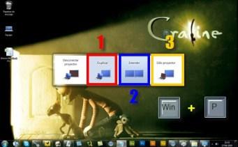 Como conectar pantalla a compu 1 Conecta y configura tu pantalla en Windows 7