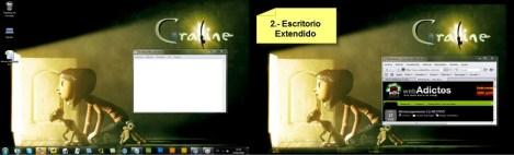 Como conectar pantalla a compu 2 Conecta y configura tu pantalla en Windows 7