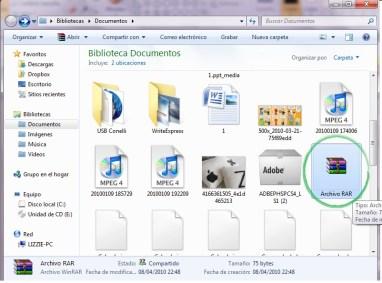 Comprimir archivos RAR 4 Como comprimir varios archivos en un archivo RAR