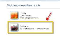 Cuenta 3 Cómo crear una cuenta de invitado en Windows