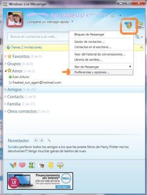 Como configurar Messenger Plus (MSN Plus) - MSN-1
