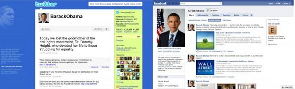 Facebook y Twitter, pieza clave en el gobierno de Obama - Obama-twitter1-e1271915993567
