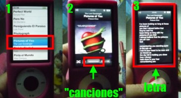 P1030573 Como poner la letra de una canción en tu iPod
