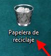 Como restaurar elementos de la Papelera de Reciclaje en Windows - Papelera