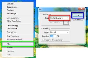 Como desaparecer cosas en imágenes con Content-Aware Fill en Photoshop CS5 - Photoshop-3