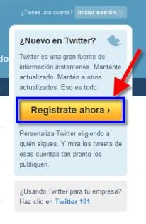 Como crear una cuenta en Twitter - Twitter-1