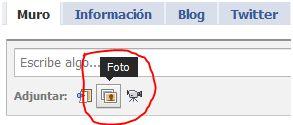 cargar foto facebook Se el más webAdicto en Facebook y gana una Dell mini 10