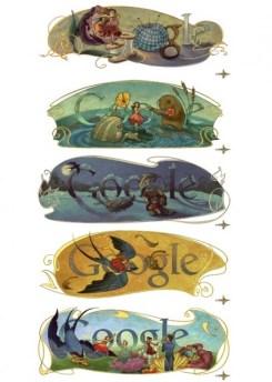 Google celebra 205 años de Hans Christian Andersen - google-hans