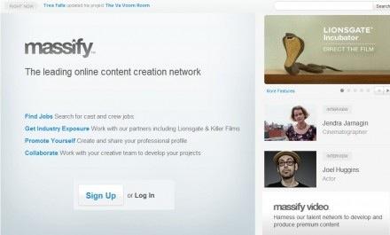 Massify, una red social para profesionales del cine - massify-440x265