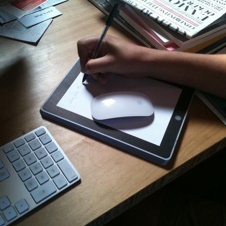 Universidades de Estados Unidos prohiben el uso del iPad en sus instalaciones - notepod-non-digital-ipad-notepad-0