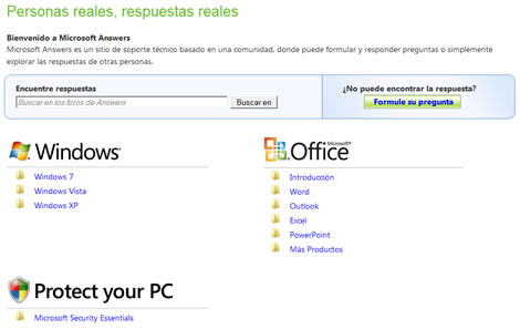 problemas windows Microsoft Answers, respuestas de expertos a tus problemas