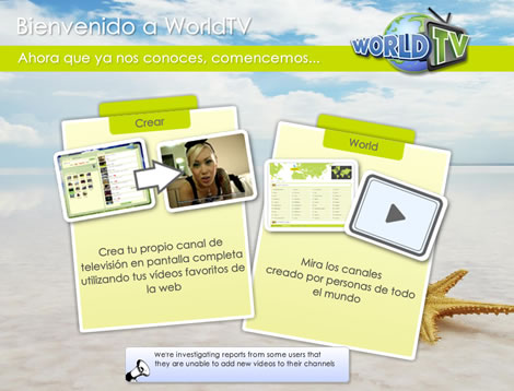 tv online Crear canal de TV online con WorldTV