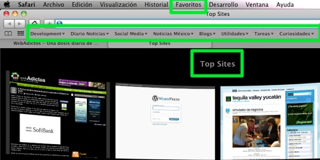 Agregar y administrar sitios safari 4 Cómo agregar y administrar páginas en Safari