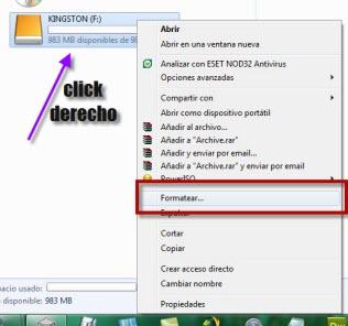 Como formatear una USB o SD 1 Como formatear tu memoria flash USB o tarjeta SD