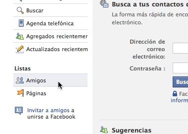 Como hacer listas de amigos en Facebook 2 Como hacer listas de amigos en Facebook