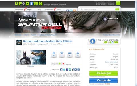UpToDown lanza su tienda de juegos - Ficha-Juegos-uptodown