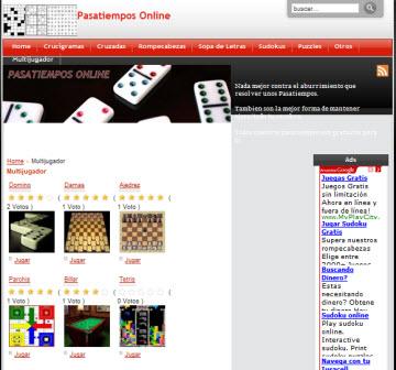Pasatiempos Online 1 Pasatiempos Online, ideal para entretenerse un rato