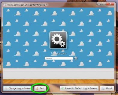 Tweakslogon 6 Como cambiar la pantalla de inicio de sesión de Windows 7