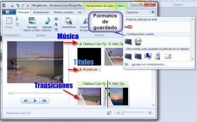 Windows Movie Maker 5 Como crear una presentación de fotos en Windows Movie Maker