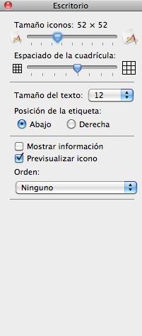 Alinea los iconos en el Finder automáticamente - alinear-iconos-mac-por-defecto-automaticamente-4