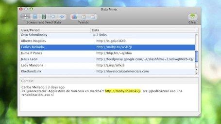 Babble, controla Twitter, Facebook y Youtube con una sola aplicación - babble-data-miner