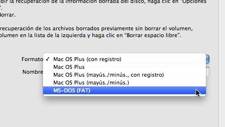 como formatear disco mac usb 3 Como formatear en Mac
