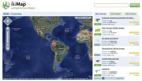 Crear mapas y compartirlos en iKiMap - compartir-mapas
