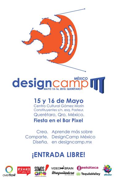 Designcamp México - designacampcartel_380