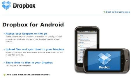 Dropbox expande sus servicios, esta disponible para iPad y Android - dropbox-for-android