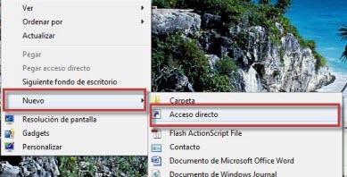Como crear el acceso directo de Flip 3D en Windows - flip3d