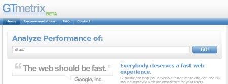 GTmetrix, una herramienta para medir la velocidad de carga de tu página web - gtmatrix