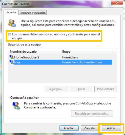 Inicia sesión en Windows al iniciar sin entrar tu contraseña - inicio-sesion-automatico-windows-7-2