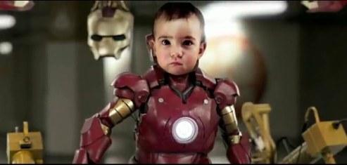 Video de Iron man bebe - ironbaby