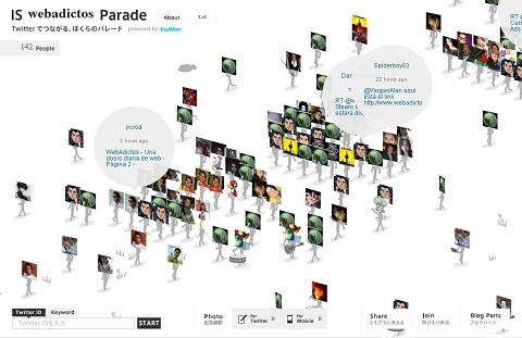 Tus seguidores en Twitter desfilando con IS Parade - is-parade