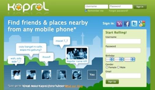 Yahoo! compra a la empresa de geolocalización Koprol - koprol