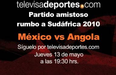 mexico vs angola Mexico vs Angola en vivo por internet