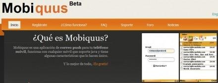 Mobiquus, una aplicación para recibir y enviar emails desde celulares con Java - mobiquus-440x168