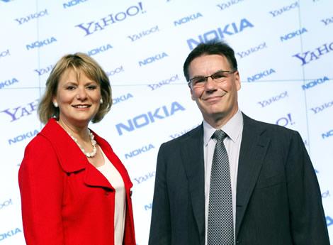 Nokia y Yahoo! firman alianza - nokia-yahoo
