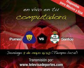 pumas santos cuartos vuelta Liguilla del Futbol Mexicano Cuartos de Vuelta en Vivo!