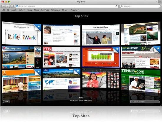 El navegador Safari de Apple podría incluir extensiones - safari2
