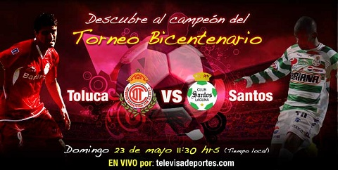 Santos vs Toluca en vivo (partido de vuelta) - santos-toluca-final-bicentenario-2010