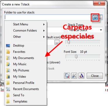 Agrega un efecto de Stack a tus carpetas en Windows 7 - stack-2