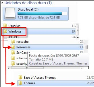 temas nuevos 1 Como instalar temas en Windows 7 no oficiales