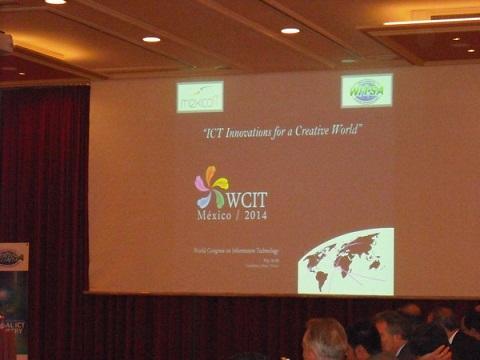 Guadalajara será sede del Congreso Mundial de Tecnología 2014 - wcit-mexico-2014