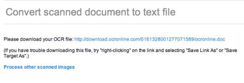 Captura de pantalla 2010 06 20 a las 17.11.36 Como convertir documentos escaneados a texto con OCR Online