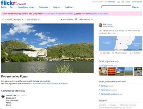 Flickr actualiza su visualización de fotos - Flickr-fotos